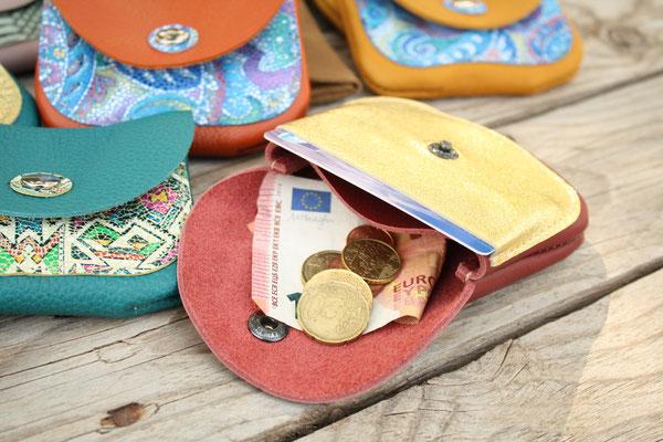 Porte-monnaie artisanal