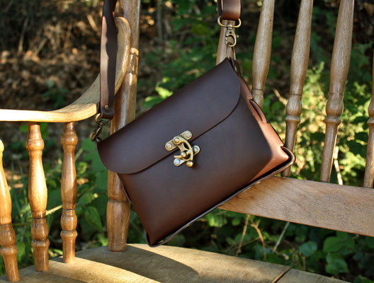 sac, pochette de ceinture en cuir