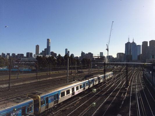 """Der Melbourne Cricket Ground (kurz MCG und weil das für die Australier immer noch zu lang ist einfach nur """"The G"""") liegt in Richmond direkt an der Metro-Strecke"""