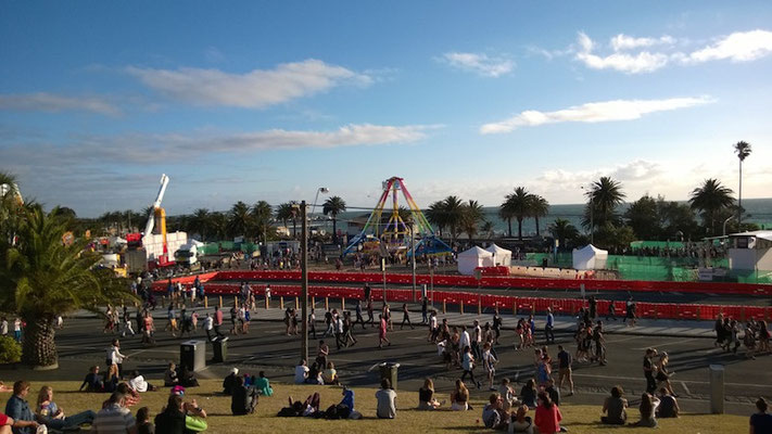 Sommerfest in St.Kilda