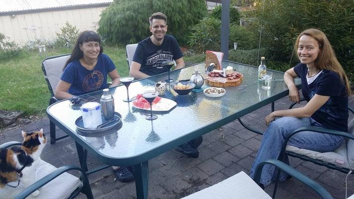 ...und sehr stilvoll haben wir uns danach Loriots Familie Hoppenstedt angeschaut