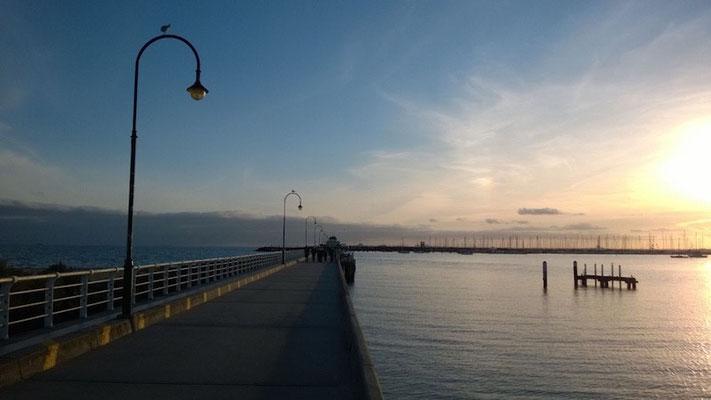 ...waren wir ab und an mal am St. Kilda-Pier!