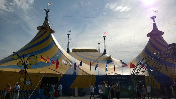Der Cirque du Soleil gastiert in Melbourne...