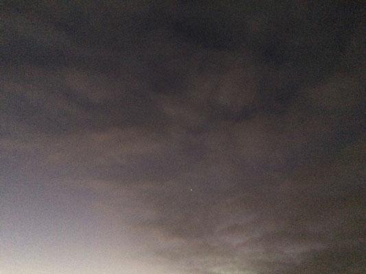 Auch um Juli stand die Venus noch hoch am Himmel!