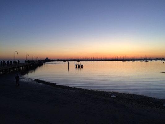 Der St. Kilda Pier...