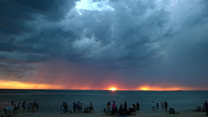 Sonnen und Wolken...