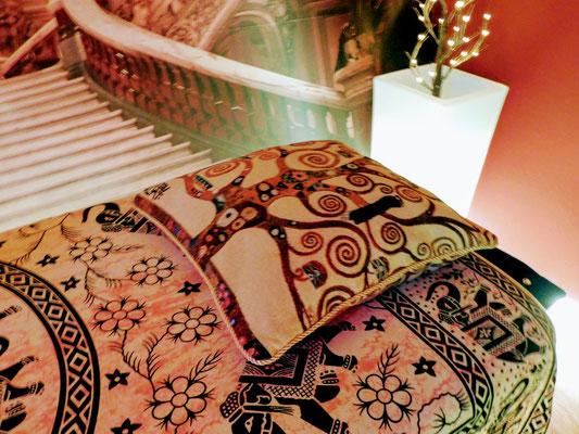 Cuscino Albero della Vita di Klimt