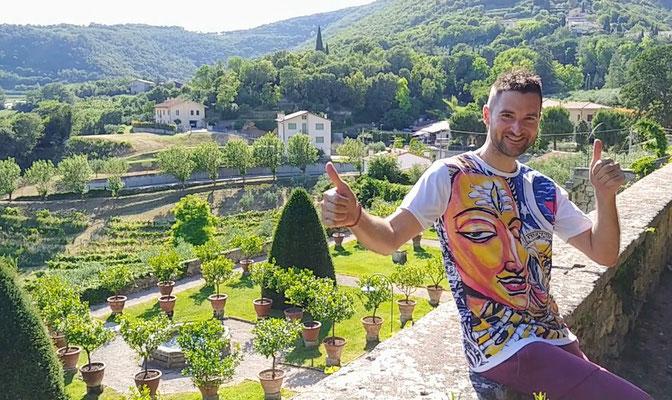 Federico Tomanin al Castello