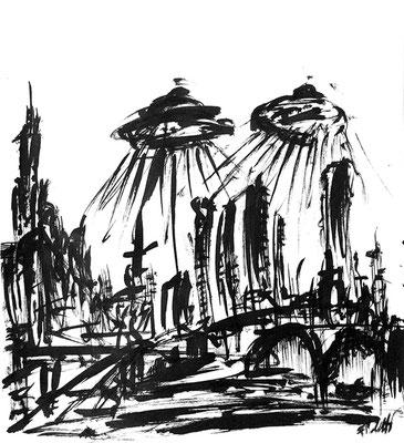 Alieni in città - 2015 - China su carta