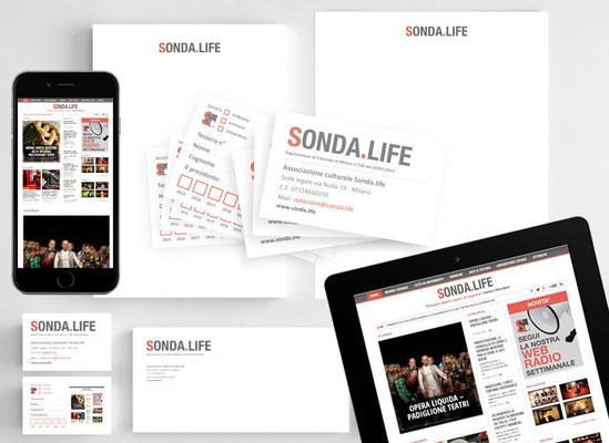 Brand identity Sonda.life