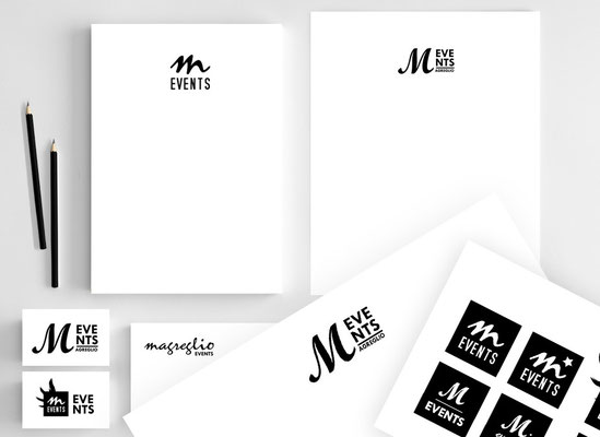 Restyling logo Magreglio Events