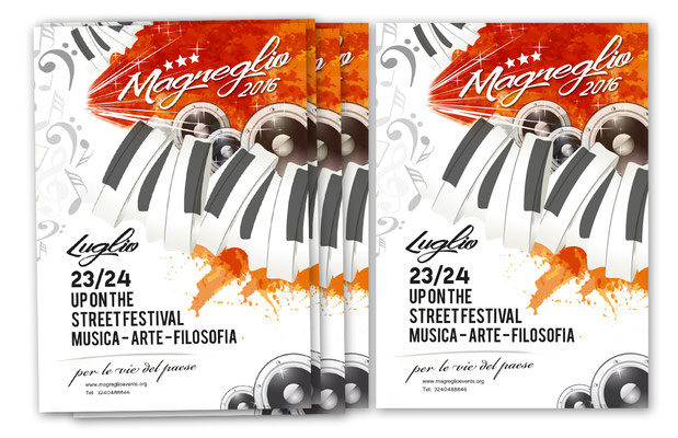 Flyer for Magreglio Events