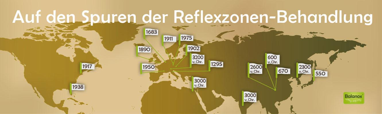 Auf den Spuren der Reflexzonen-Behandlung ::: Balanox Lounge