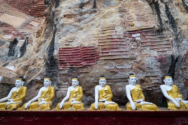 Kaw Goon Cave Kayin Staat, Myanmar