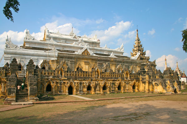 Das Kloster Maha Aung Myay Bonzan.