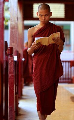 Buddhistische Mönche Myanmars