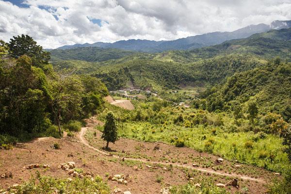 Landschaft Chin Staat