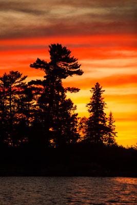 Sonnenuntergang in Kanada