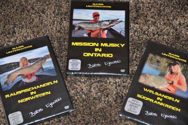 Babs unterwegs, DVD Serie