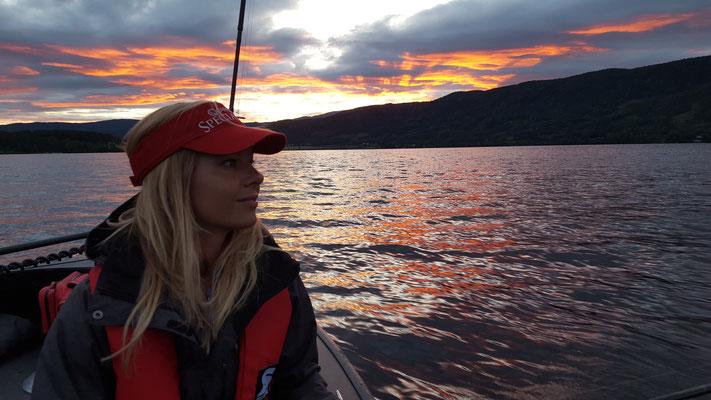 Babs unterwegs: Raubfischangeln in Norwegen