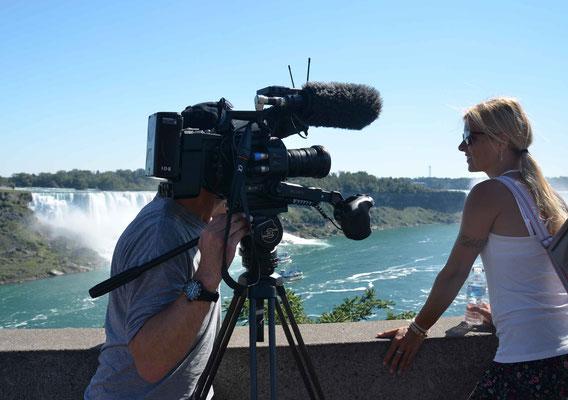 TV Show Kanada Niagarafälle Babs Kijewski