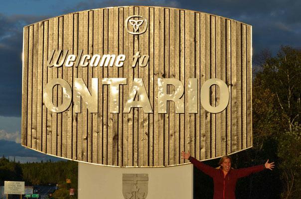 Qreuz und Quer durch den kanadischen Staat Ontario