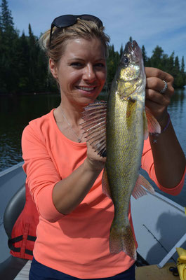 Babs mit Walleye