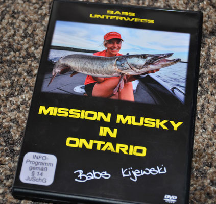 Babs DVD Mission Musky in Ontario