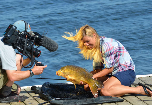 Babs Kijewski Carp fishing
