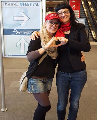Babs Kijewski und Alexandra Obermayr