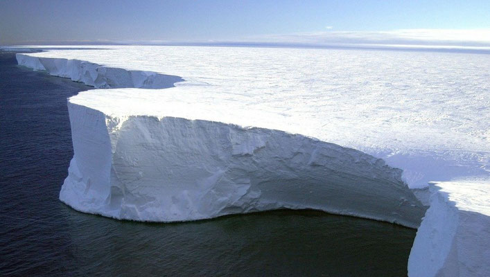 Heute: Große Eisscholle