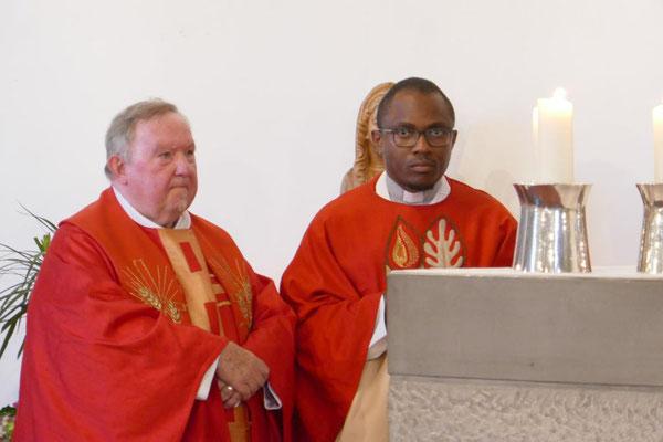 Pastor i. b. Dienst Alshut und Pastor Dominik Ekweariri