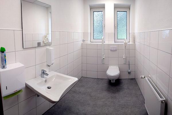 Das neue barrierefreie WC