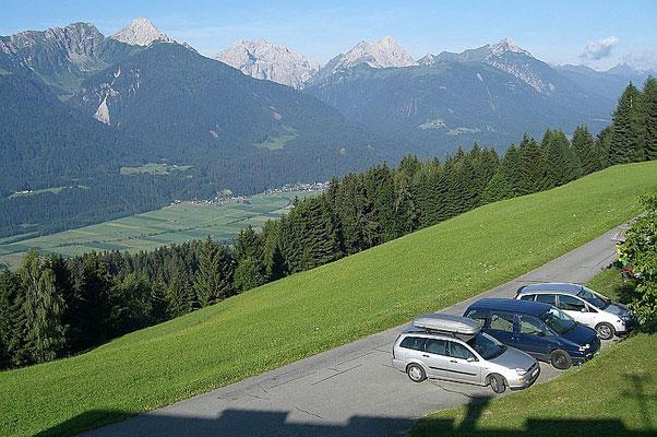 Blick über das weite Gailtal, Österreich