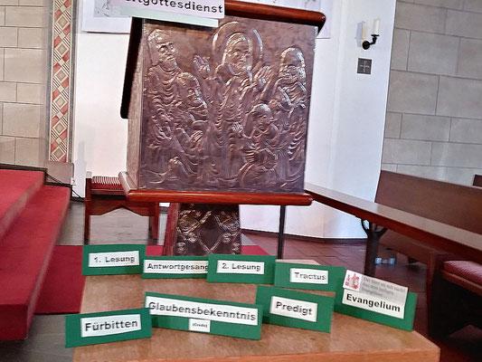 Auswahl mit Inhalten der Hl. Messe