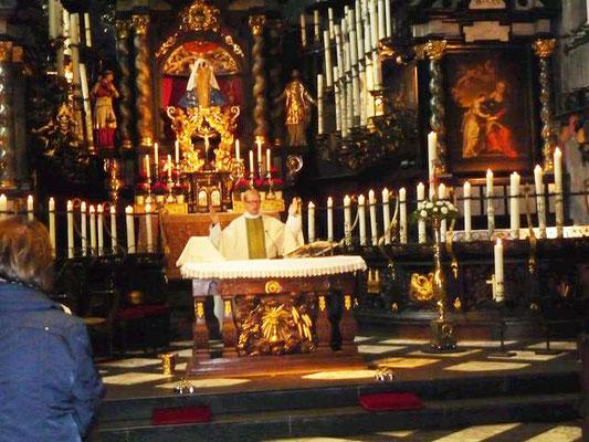 kfd-Jubiläum 2011: hl. Messe in Kevelaer