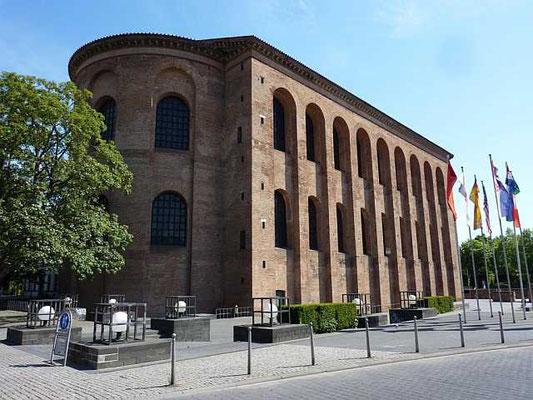 Die Konstantinbasilika in Trier