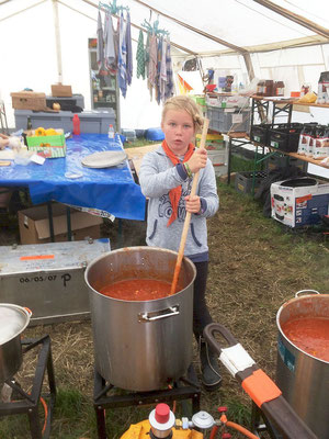 Pfadfinderlager 2019: Die Suppe ist bald fertig