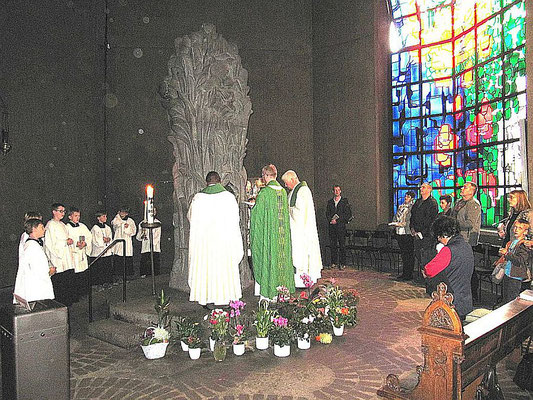 Gebet am Gnadenbild