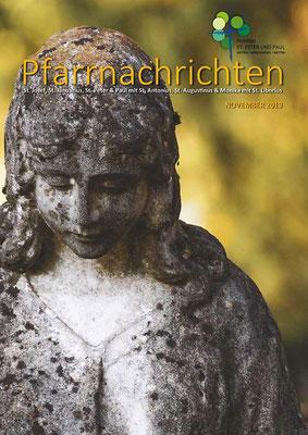 Titelseite der Pfarrnachrichten November 2019