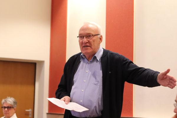 M. Berretz leitet die Vorstandswahl
