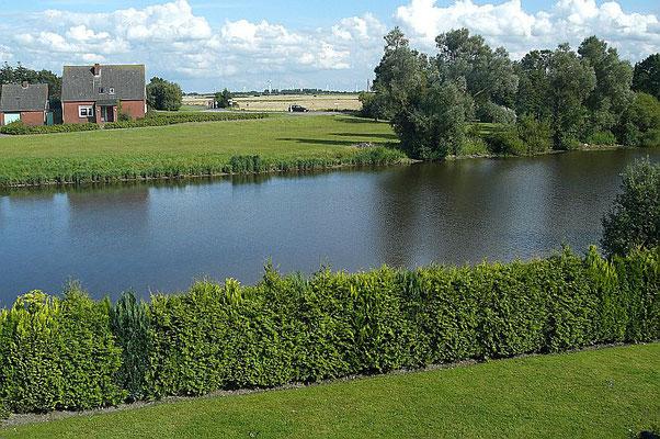 Am Dornumersieler Tief, Ostfriesland