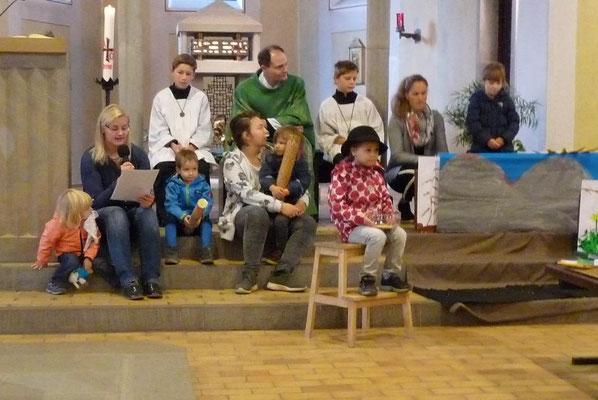 Kindergarten: Das Gleichnis vom Sämann
