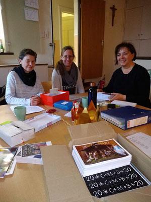 Das Organisationsteam: Brigitta Wodausch, Veronika Spanke und Margarete Kirchner (v.l.)