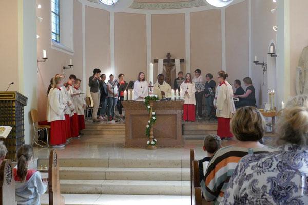 Feier der Hl. Messe am vierten Sonntag der Osterzeit