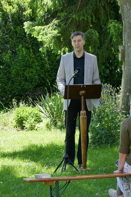 Stefan Breiter während der Lesung