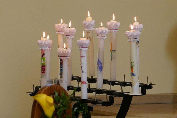 Kerzen Gruppe 2