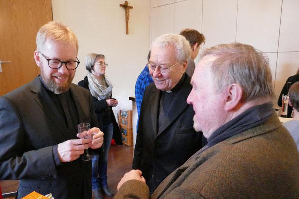 Norbert Schroers und Bernd Alshut verabschieden sich