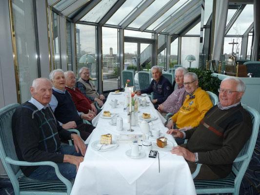 2014 beim Essen in Köln