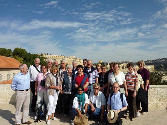 Israel-Pilgergruppe 2011